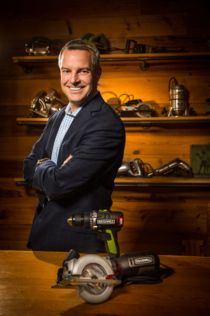 Tom Duncan, CEO of Positec Tool Corporation (Worx and Rockwell tool brands).